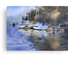 McCarr's Creek, Pittwater Metal Print