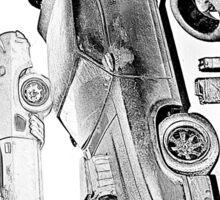 MovieRepliCars Sticker 2 - Mad Max V8 Interceptor Sticker