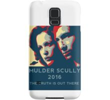 Scully/Mulder 2016 Samsung Galaxy Case/Skin