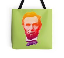 Big psychedelic Abe  Tote Bag