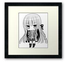 kirigiri chibi Framed Print