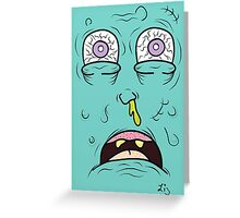 Snot Greeting Card