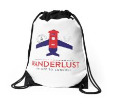 Royal Travel Drawstring Bag