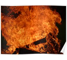 Raging Hot Flames 1 Poster