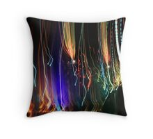 ... and then I went swoosh! Throw Pillow