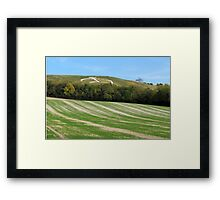 The Wye Crown Framed Print