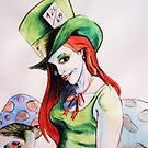 mad-ame hatter by Brandon K Jenkins