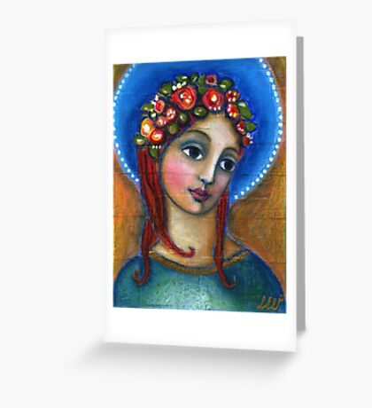 Angel of Compassion Greeting Card