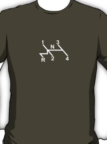 VW Shifter Pattern T-Shirt