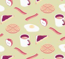 Green Breakfast Sticker