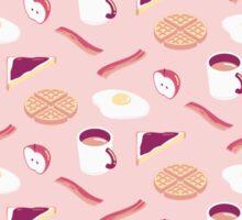 Pink Breakfast Sticker