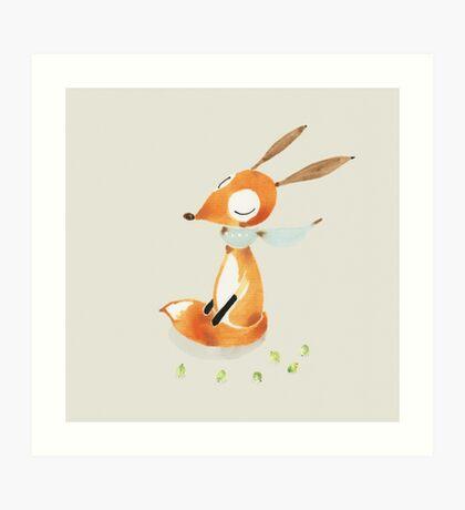 Dear Fox Art Print