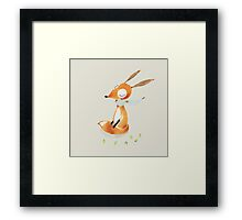 Dear Fox Framed Print