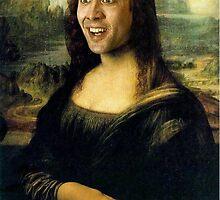 Nicholas Cage Mona Lisa by MaximumLobsters