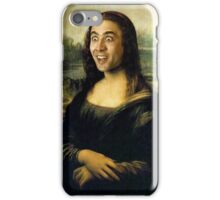 Nicholas Cage Mona Lisa iPhone Case/Skin