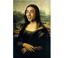 Nicholas Cage Mona Lisa Photographic Print
