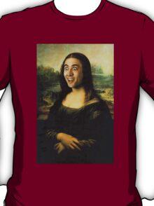 Nicholas Cage Mona Lisa T-Shirt