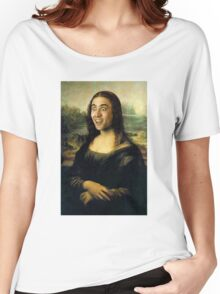 Nicholas Cage Mona Lisa Women's Relaxed Fit T-Shirt