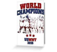 US Soccer WNT - World champions - 2015 Greeting Card