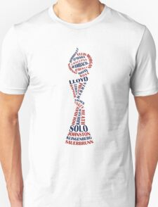 US Soccer WNT - World champions - 2015 - red and blue Unisex T-Shirt