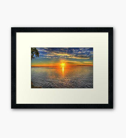 Landscape beautiful Framed Print