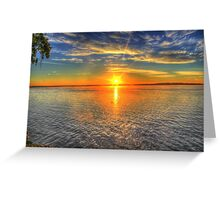 Landscape beautiful Greeting Card