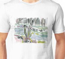 Lynn Creek in winter Unisex T-Shirt