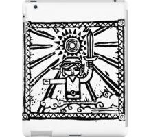 Wind Waker Block Print black iPad Case/Skin