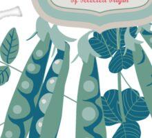 Veg Love Collection No.6 Bean Sticker