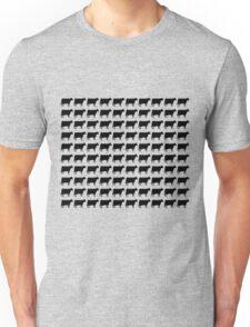 100 Cows - Black Unisex T-Shirt
