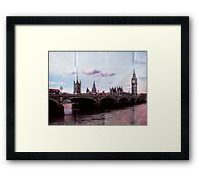 Vintage London Framed Print