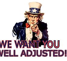 Uncle Sam wants you Adjusted by jmubosco