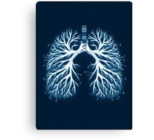 I Breathe Music Canvas Print