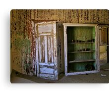 rusty cans Canvas Print