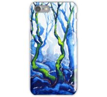 Trees in Padley Gorge, Derbyshire. iPhone Case/Skin