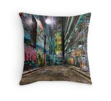 Hosier Lane Throw Pillow