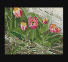 Backyard Tulips Kids Clothes