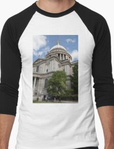 St Paul's Cathedral Men's Baseball ¾ T-Shirt