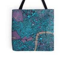 London city map twilight Tote Bag