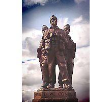 Commando Monument  Photographic Print
