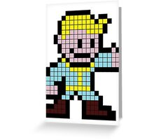 8Bit Nuclear Winter Greeting Card