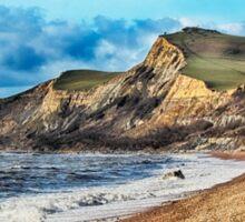 Coastline Cliffs Sticker