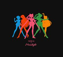Fighting evil by Moonlight Womens Fitted T-Shirt