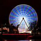 Wheel Glow by Bruce Langdon