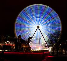 Wheel Glow by Bruce Langdon