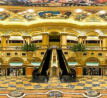 The Great Hall - Venetian Macau - Panoramic by HKart