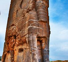 Palace Entrance - Persepolis - Iran by Bryan Freeman