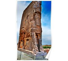 Palace Entrance - Persepolis - Iran Poster