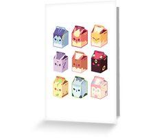 Eevee Milk Greeting Card