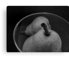 PEAR SHAPED {challenge entry} Canvas Print
